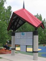 TransCanada Trail pavilion Red Deer