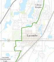 The Great Trail in Lacombe
