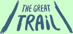 The Great Trail logo